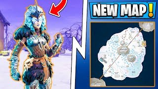 *NEW* Fortnite 6.0 Update! | Snow Map, Ice Castle POI, Season 6 Feature!