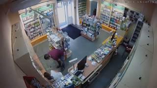 Ограбление аптеки в Красноярске