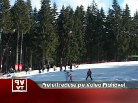 Preţuri reduse pe Valea Prahovei