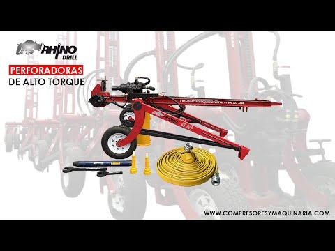 Perforadoras Wagon Drill Marca Rhino Drill Modelo AS60p   Grupo Compresores Y Maquinaria