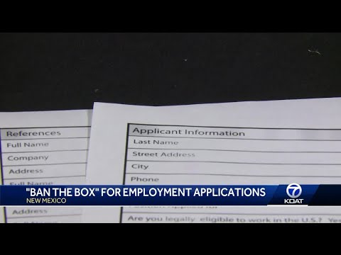 'Ban the Box' law goes into affect for all businesses in New Mexico