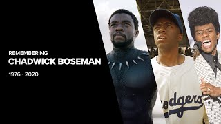 Remembering Chadwick Boseman (1976-2020)