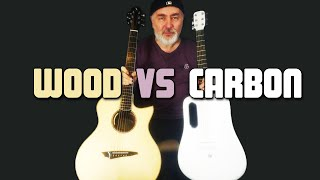 CARBON FIBER vs WOOD -  Guitar Comparison!