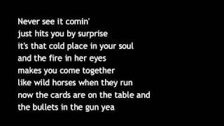 Toby Ketih   Bullets In The Gun With Lyrics
