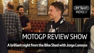 The MotoGP End Of Season Review (full Show) | Special Guests Including Jorge Lorenzo