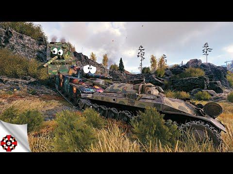 World of Tanks - Funny Moments | BIG GUYS! (WoT big tanks - big fails)