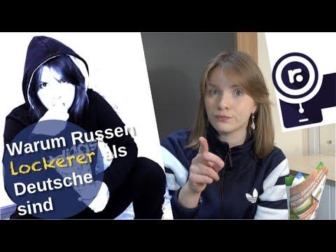 Warum Russen lockerer als Deutsche sind! [Video]