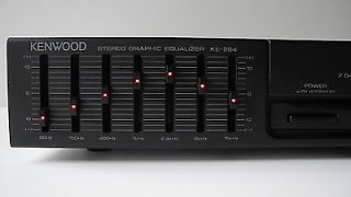 To Eq Or Not To Eq Review Of The Kenwood KE 294 Stereo Graphic Equalizer