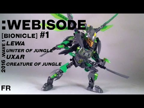 Vidéo LEGO Bionicle 71300 : Uxar - Créature de la Jungle