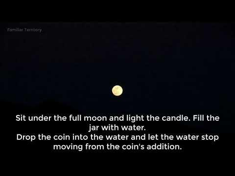 Full Moon Wish Spell