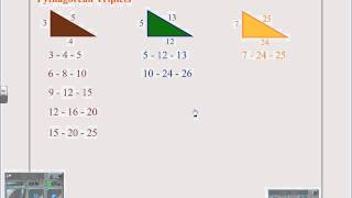 Solving Special Right Triangles.wmv