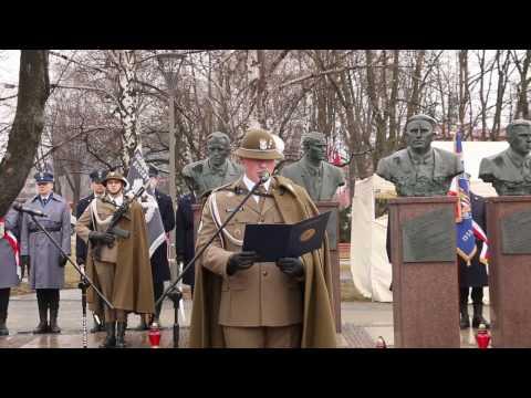 """Narodowy Dzień Pamięci """"Żołnierzy Wyklętych"""" – obchody w Rzeszowie 1.03.2017"""