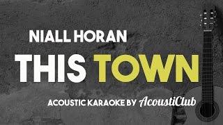 Niall Horan  This Town Acoustic Karaoke