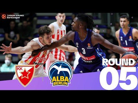 RS Round 5 Highlights: Zvezda 63-78 ALBA