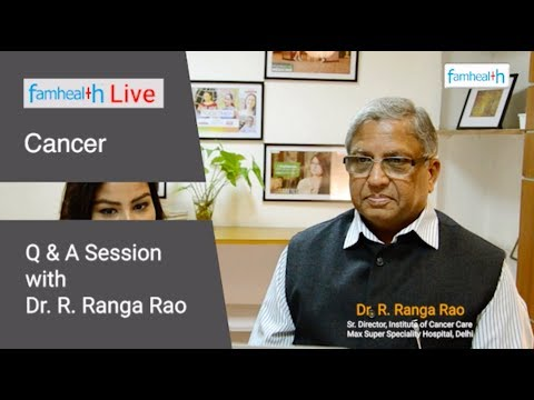 Cancer Questions with Dr. Ranga Rao