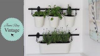 IKEA Kitchen Herb Garden | Hanging Herb Garden