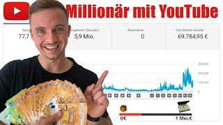 Ich mache aus 0 EURO 1 Million EURO - Mit YouTube | 0 - Mio. Folge 3