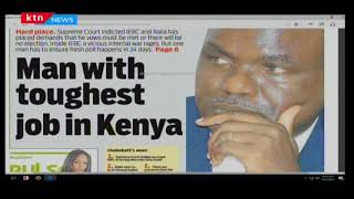 Wafula Chebukati is the man with toughest job in Kenya