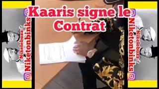 KAARIS SIGNE Le CONTRAT Du COMBAT Contre BOOBA Qui Aura LIEU En TUNISIE
