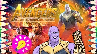 How To Draw Thanos 123vid