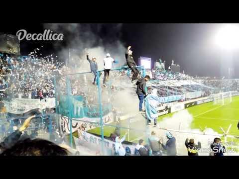 """""""Copa sudamericana 2017:Espectacular recibimiento Atlético Tucumán (ARG) vs oriente petrolero(bol)"""" Barra: La Inimitable • Club: Atlético Tucumán"""