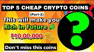 Top Ten Cryptocurcy von Market Cap 2021