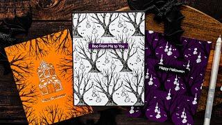 Super Simple Halloween Cards - Easy Handmade Cards