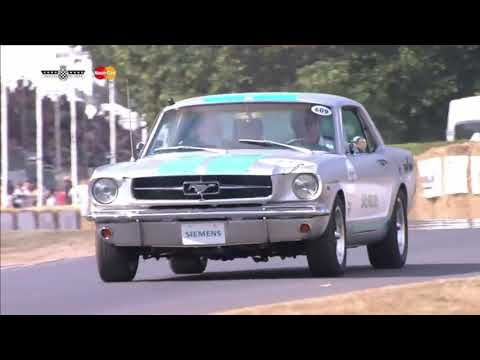 Autonomous Mustang Tackles The Goodwood Hill Climb