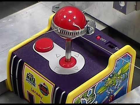 RoboGamer: a robotic TV game player