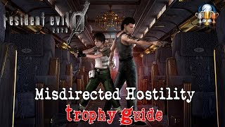 Resident Evil 0 HD Remaster - Misdirected Hostility Trophy Guide (Destroy a zombie's legs)