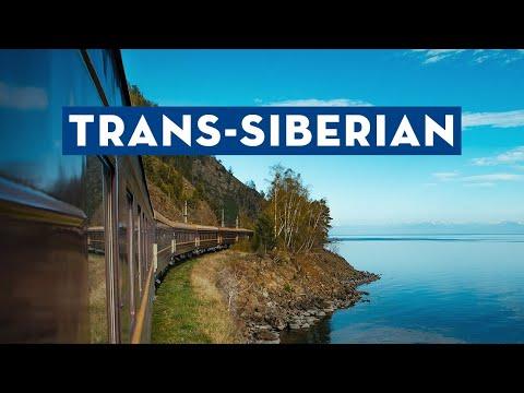 Trans-Siberian by Private Train (видео)