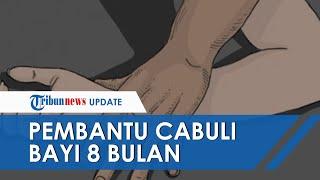 POPULER: Pembantu Cabuli Bayi 8 Bulan Sambil Video Call dengan Suami, Pelaku Positif Pakai Narkoba