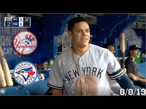 New York Yankees Highlights: vs Toronto Blue Jays | 8/8/19