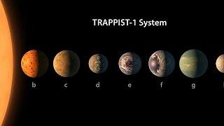 La vita oltre il sistema solare: scoperti 7 pianeti simili alla Terra