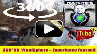 360 Videos | VR | Virtual Reality | WooFSphere | FurWheeling in Timelapse on New River Trail 360º
