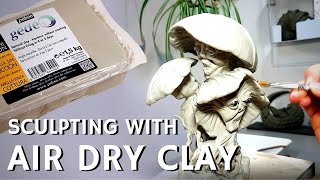 Sculpting With Air Dry Clay: Tips And Materials