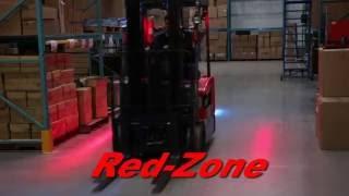 The Red-Zone Pedestrian Warning Light