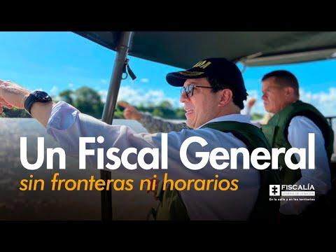 Francisco Barbosa: Un fiscal General sin fronteras ni horarios
