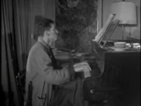 Glenn Gould clip from 'The House That Jack Built'