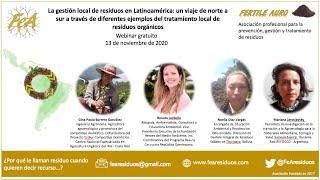 La gestión local de residuos en Latinoamérica: ejemplos del tratamiento local de residuos orgánicos