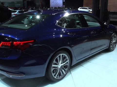 2015 Acura TLX Gets a New Look & Name