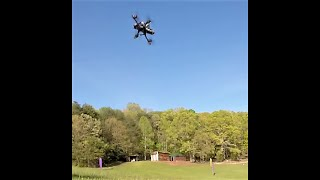 """This is Loud! GoPro in the Flying Field Flywoo Mr Croc 5"""" Racing Drone DJI FPV Cutting Laps"""