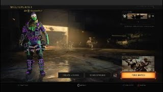 Black Ops 4 Custom Match Create a Class 17 slots not working
