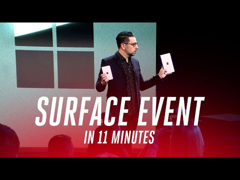 The Guy in this short (Microsoft Surface 2019 event) video looks like he could sell me my own shit