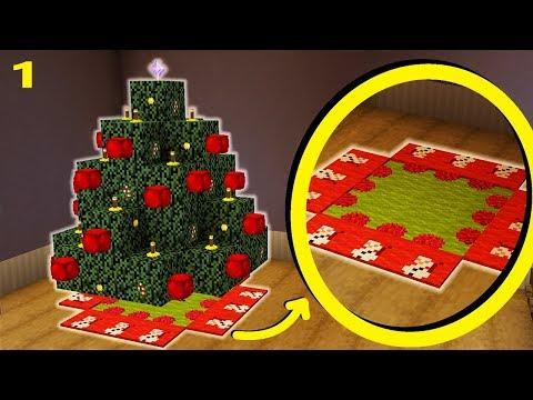Minecraft Christmas Tree.Minecraft How To Make A Christmas Tree Mat Carpet