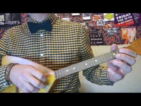 Rufus Wainwright - Hallelujah на балалайке перебором (ceg)
