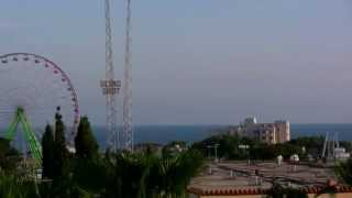 preview picture of video 'Ayia Napa sea and city view - Cyprus 2014 Full HD 1910x1080'