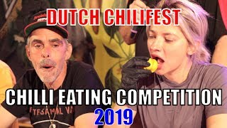 Chilli Eating Contest - Dutch ChiliFest (Eindhoven, Netherlands) 2019