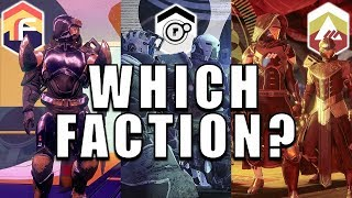 Destiny 2: WHICH FACTION SHOULD YOU PICK?