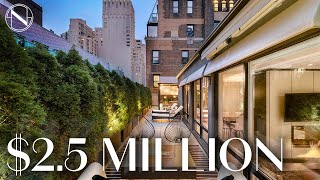Inside a $2.5 MILLION Penthouse Oasis near Central Park